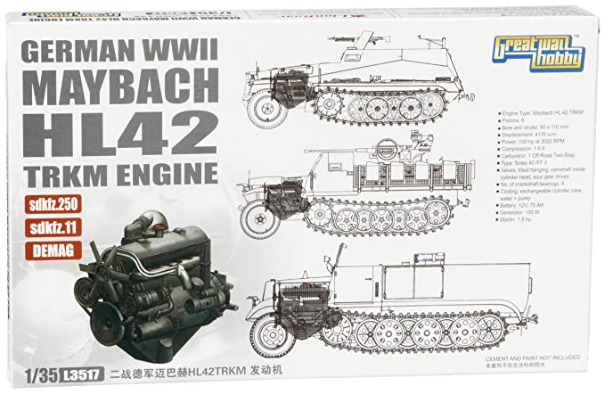 lion roar l3517 wwii german maybach hl amazon co uk toys games rh amazon co uk Mercedes Maybach Mercedes Maybach