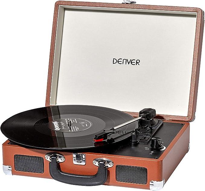 Reproductor de grabación retro de Denver VPL-120. Brown UK: Amazon ...