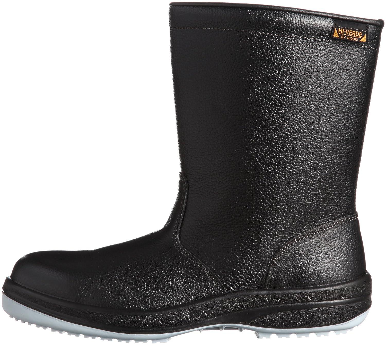 [ミドリ安全] 安全靴 半長靴 HGS340 静電 B002QCW2S8 26.0 cm|ブラック