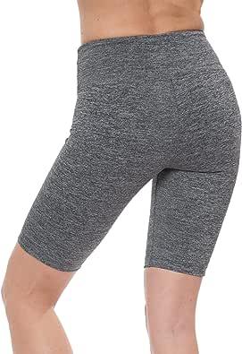 "NIRLON Yoga Shorts for Women Athletic Running Jogging & Sport Short Yoga Pants Best Workout Short Leggings 9"" Inseam"