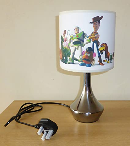 TOY STORY   BEDSIDE LAMP   BOYS BEDROOM LIGHT / LAMP SHADE