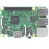 Raspberry Pi 3 model B 1GB with case and heatsinks