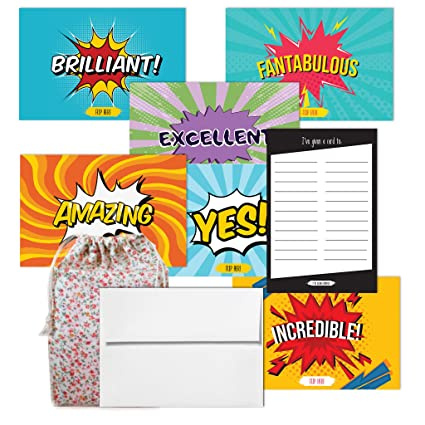 Amazon ive been flipped comic book set1 greeting cardthank ive been flipped comic book set1 greeting cardthank you notes m4hsunfo