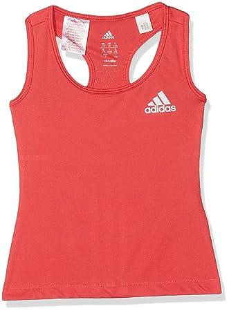 adidas Yg Gu Camiseta sin Mangas, Niñas, Rosa (Rosbas/Blanco), 110: Amazon.es: Deportes y aire libre