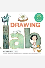 Drawing Lab Kit: A Fun and Silly Art Kit, Includes Instructions and Materials for Drawing Experimentation and Play Burst: featuring a 32-page book with instructions and ideas Paperback