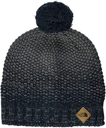 dc287fba THE NORTH FACE Men's Antlers Beanie, Urban Navy/TNF Mid Grey Heather, One