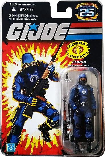 GI JOE Custom Action Figure 3.75 Inch Cobra Female Trooper Fodder Wars Star