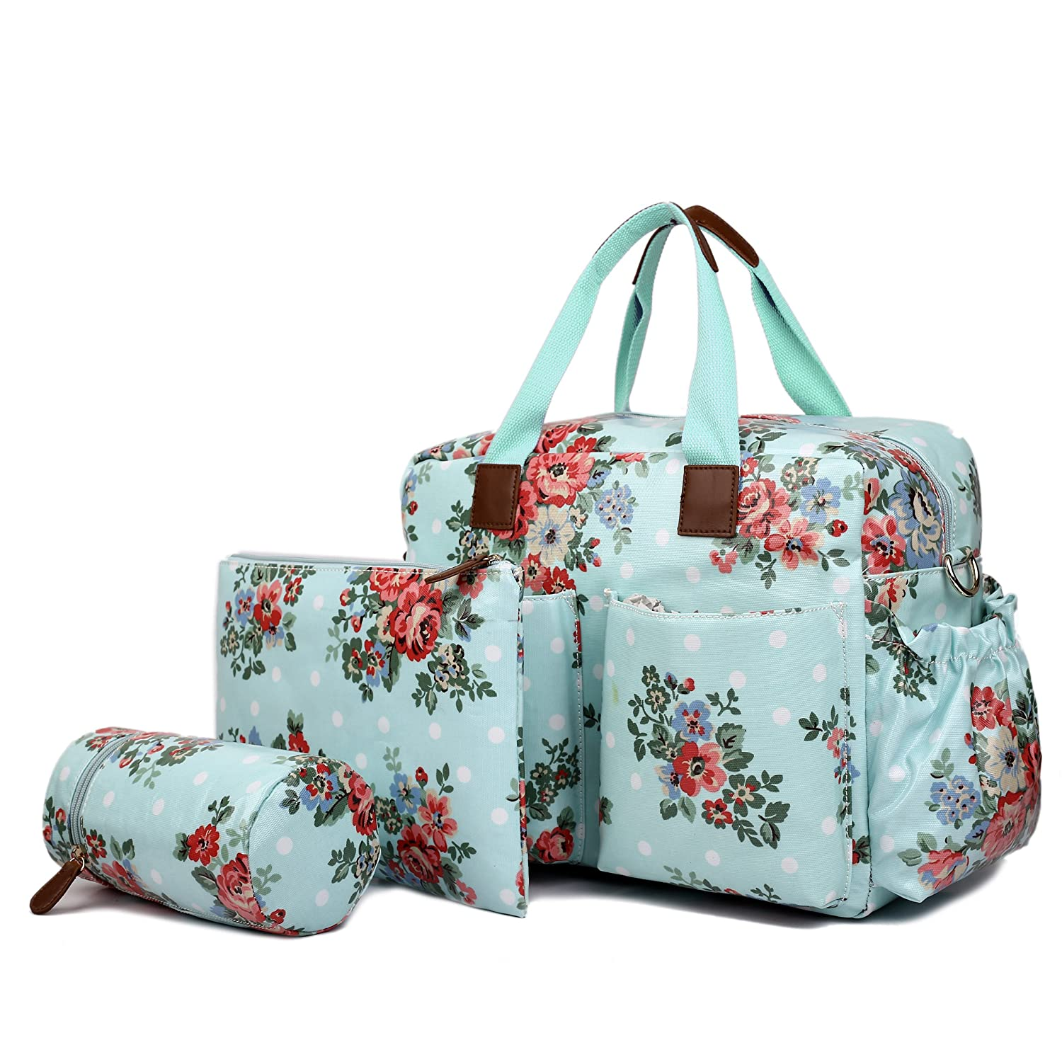 Miss Lulu Baby Changing Bag Set Mummy Nappy Large Tote Clean