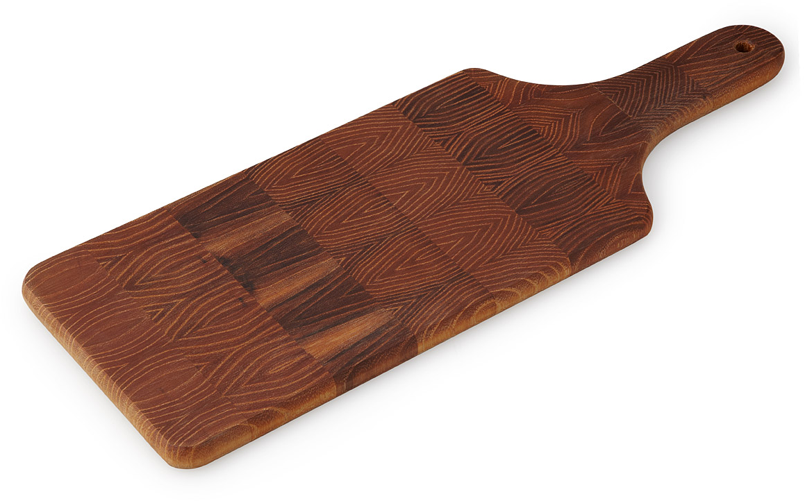 Tree Ring Serving Board | robinia | UncommonGoods