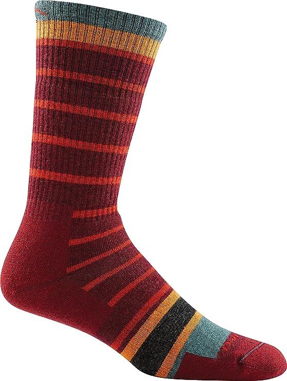 Darn Tough Via Ferrata Full Cushion Boot Socks - Men's Burgundy ...