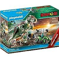 PLAYMOBIL 70632 Ataque del T-Rex, Multicolor