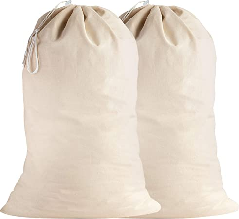 SweetNeedle - Pack de 4 - 100% algodón Bolsas de lavandería extra ...