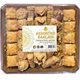 EF - Premium Assorted Baklava, 30 OZ (850G), Halal, Kosher
