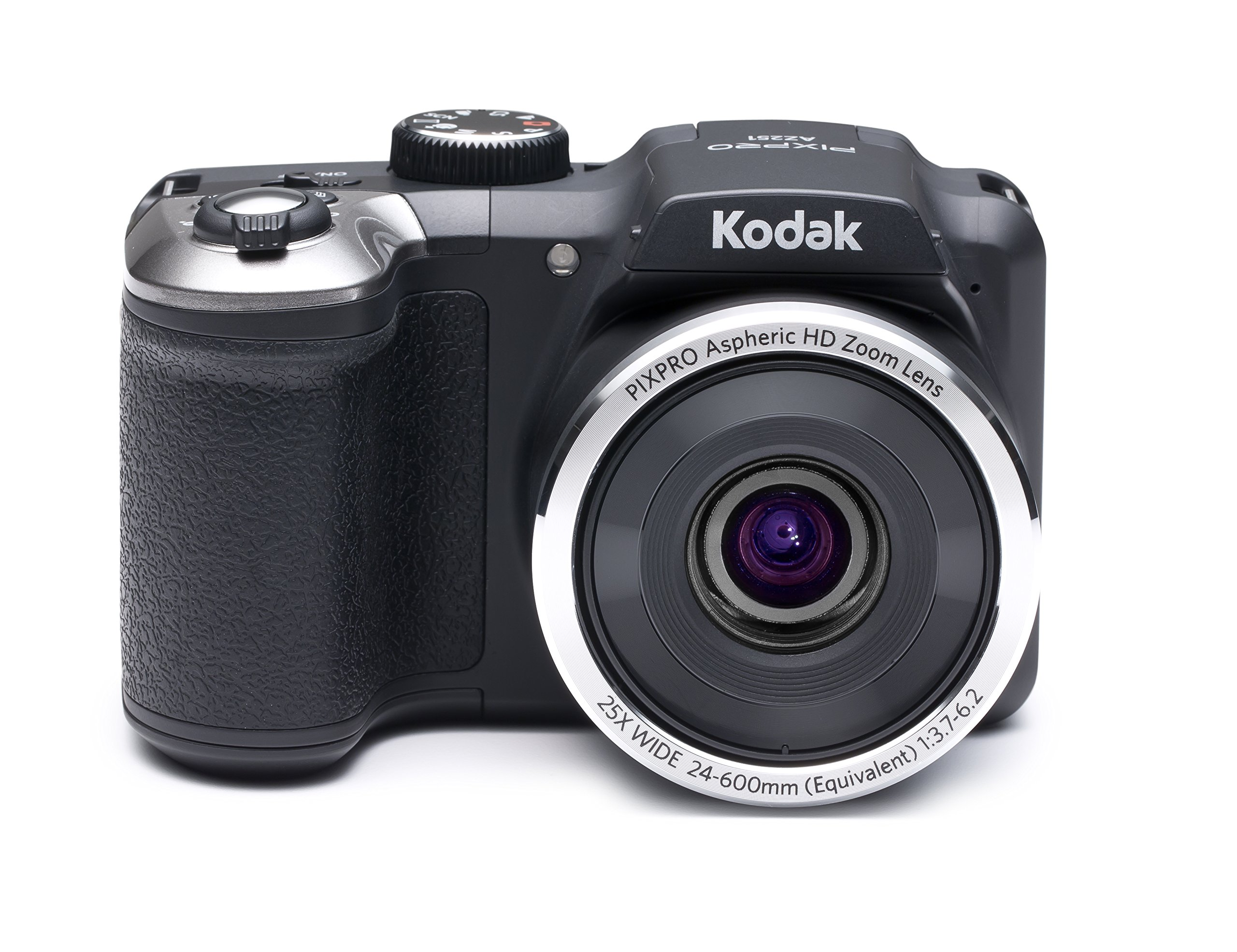 Kodak PIXPRO Astro Zoom AZ251 16 MP Digital Camera with 25X Optical Zoom and 3'' LCD Screen (Black)