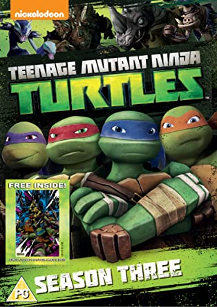 Teenage Mutant Ninja Turtles Season 3 4 Dvd Edizione: Regno ...