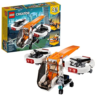 LEGO Creator 3in1 Drone Explorer 31071 Building Kit (109 Pieces): Toys & Games