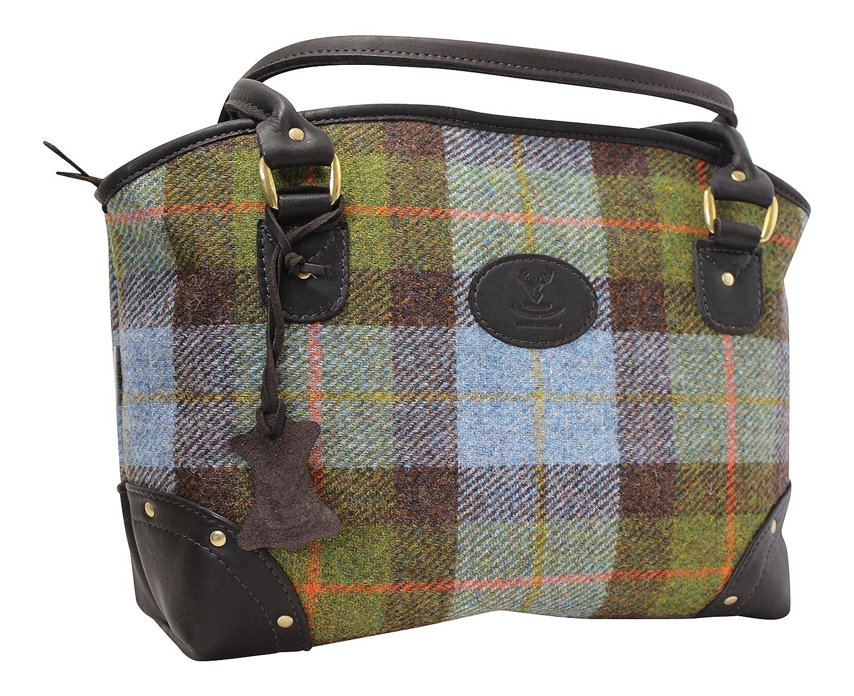 Vintage Harris Tweed Multipurpose Large Crossover Bag