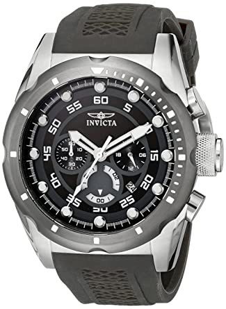 598eb62ae29c Amazon.com  Invicta Men s 20311 Speedway Stainless Steel Watch with Black  Band  Watches