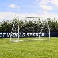 Net World Sports Forza Match - 3x2m wetterfestes Fußballtor (Futsal) Abnehmbarer Torwand bestellbar