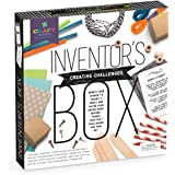 Craft-tastic – Inventor's Box – Arts and Crafts STEAM Kit Includes 7 Creative STEM Challenges