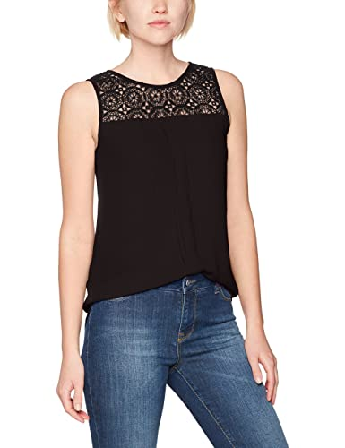 Only Onlvenice S/L Lace Top Noos Wvn, Camiseta sin Mangas para Mujer