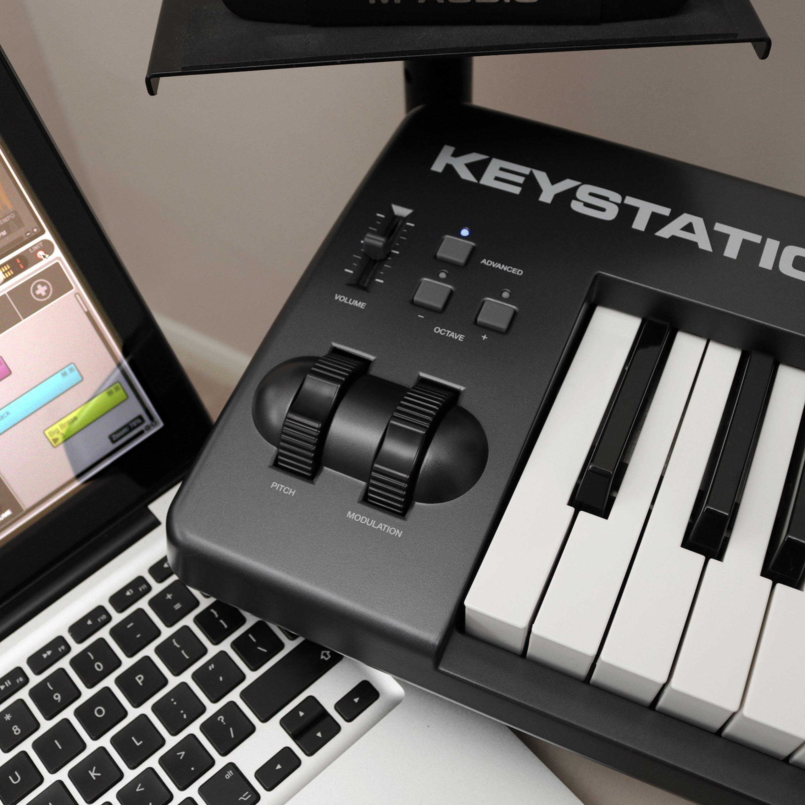 galleon m audio keystation 88 ii 88 key usb midi keyboard controller with pitch bend. Black Bedroom Furniture Sets. Home Design Ideas