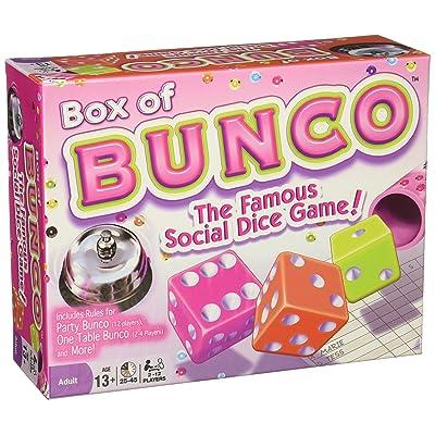 Continuum Games - Box of Bunco Game, Multicolored Dice: Toys & Games