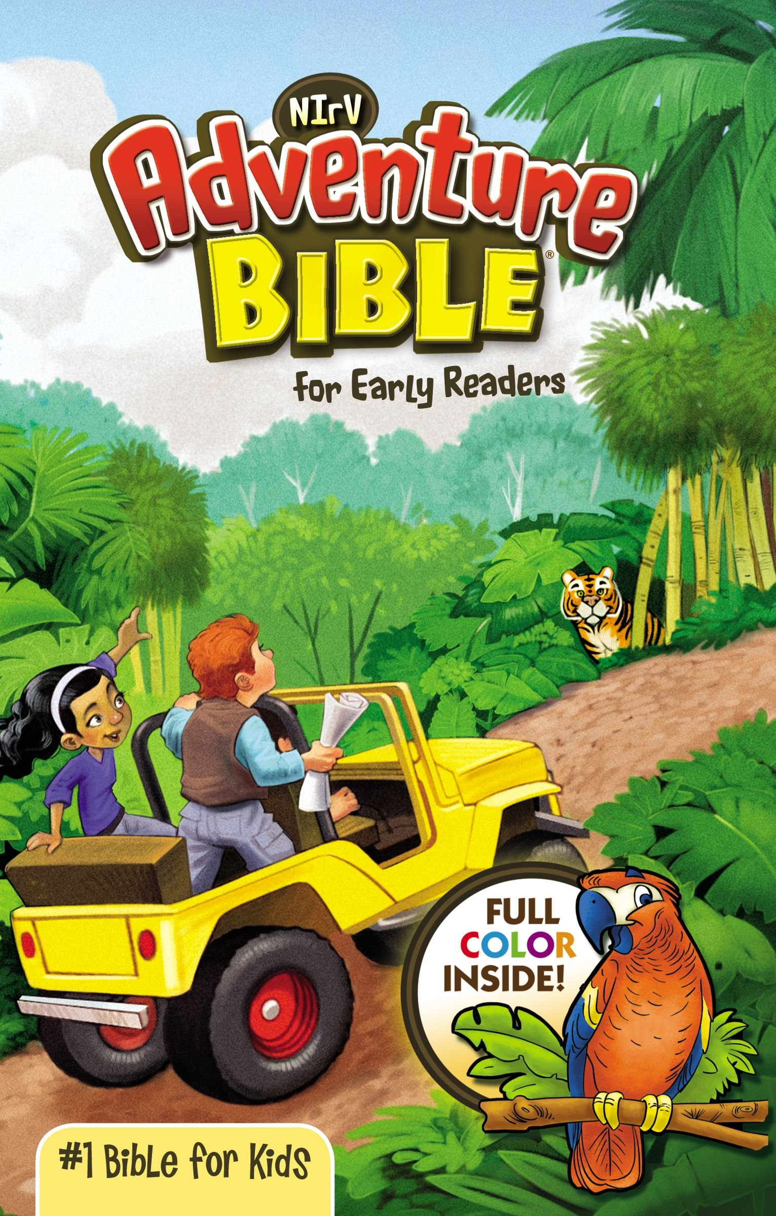 nirv adventure bible for early readers paperback full color
