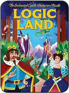Gamewright Logic Land Brain Teaser