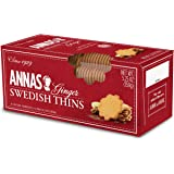 Anna's Ginger Thins Swedish Cookies 5.25 Oz (Pack of 12)