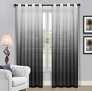 tm dye fabrics curtain interiors curtains sheer diy ombre panels tie