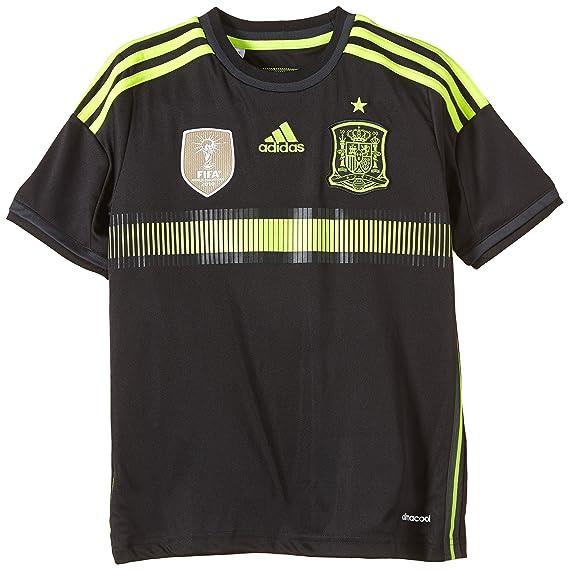 Adidas JNR Fef A JSY - Camiseta de fútbol para niño Negro 10 años ...