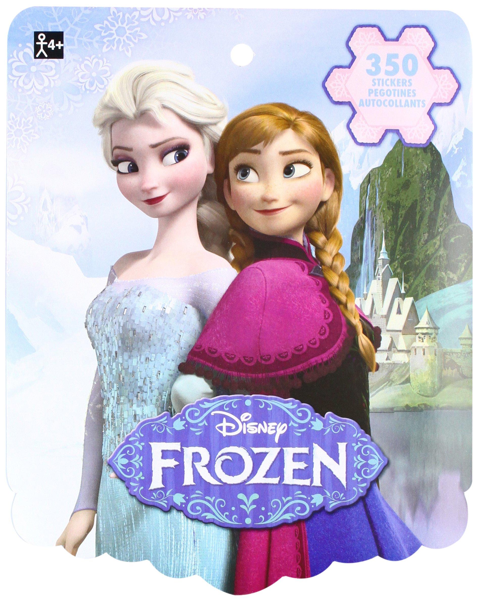 Amscan Disney Frozen 8-Sheet Sticker Book Favours, Paper, 10'' x 8'' Childrens-Party-Favor-Sets, 3000 Pieces