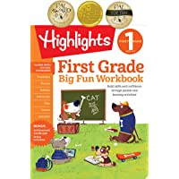 First Grade Big Fun Workbook: Build skills and confidence through puzzles and early learning activities!