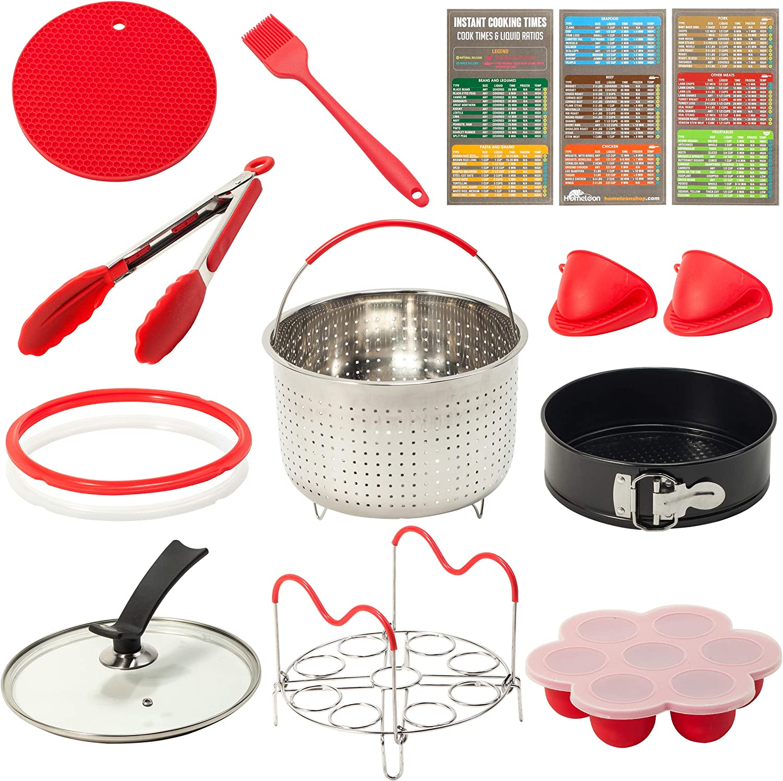 Homeleon 3QT Pressure Cooker Accessories Set | Compatible Only with 3QT Instant Pot