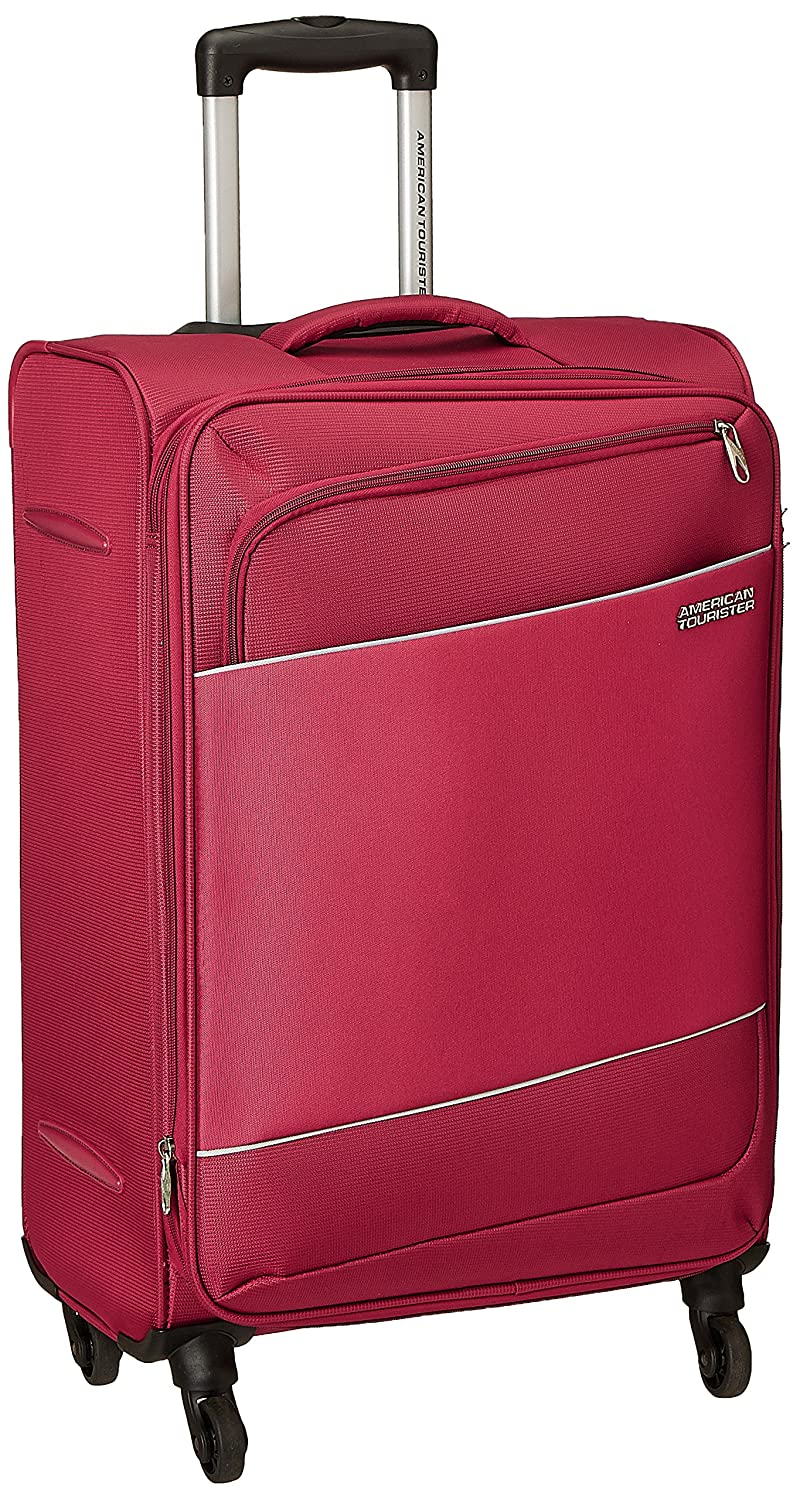 American Tourister Timor Polyester 55 cms Red Softsided Cabin Luggage