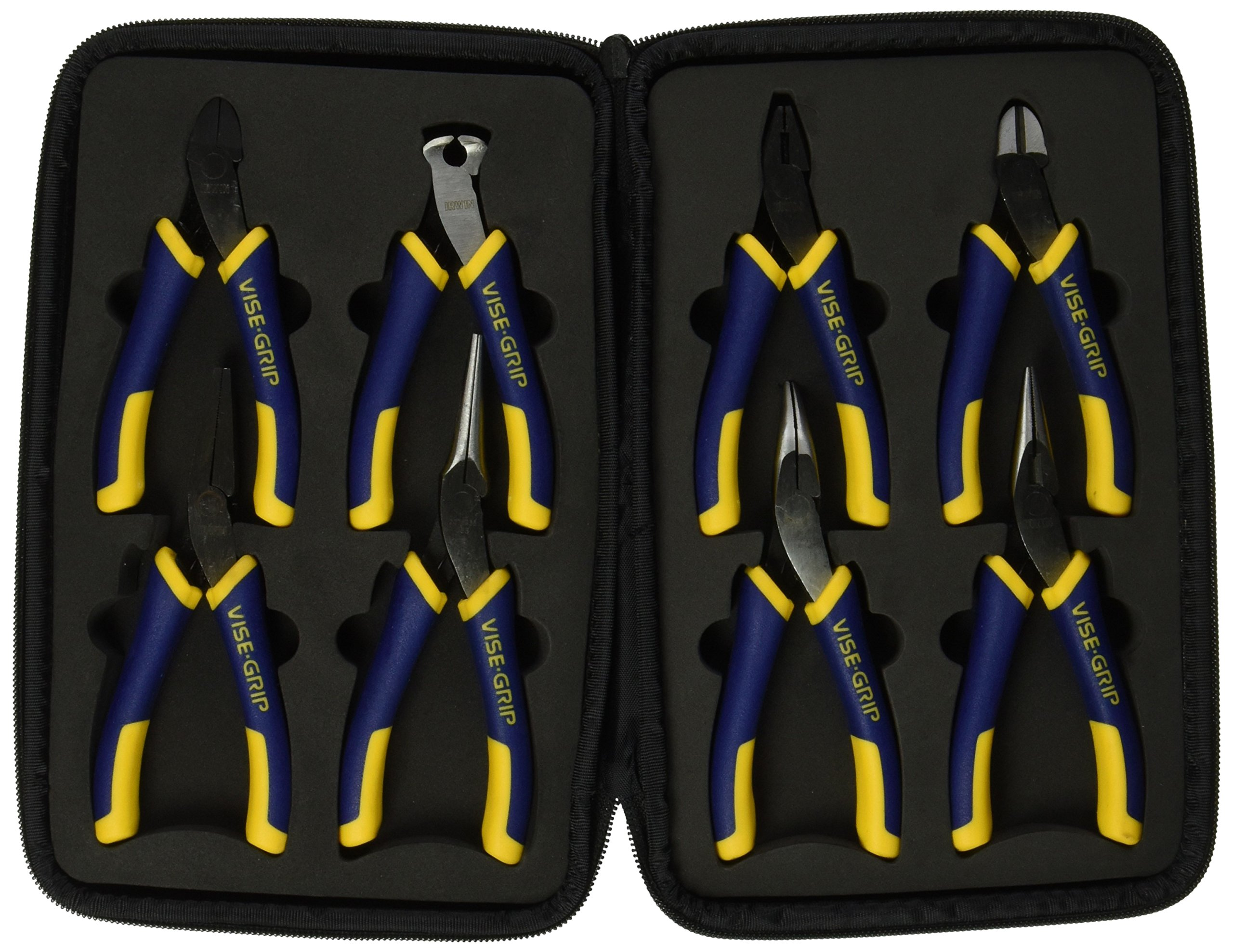 IRWIN VISE-GRIP Pliers Set with Case, 8 Pieces (2078714) by IRWIN