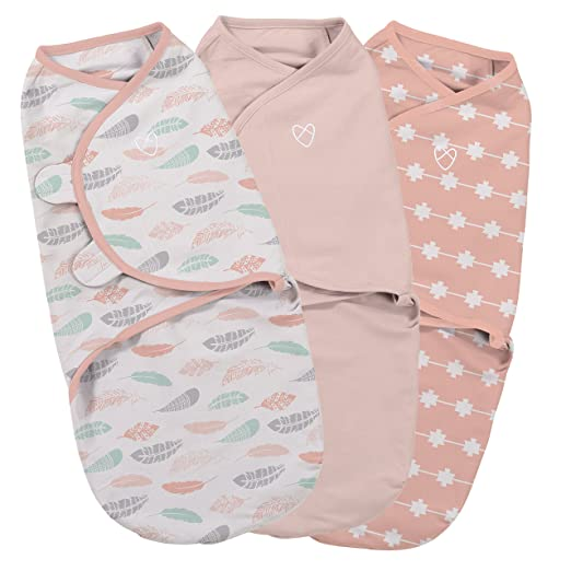 SwaddleMe Original Swaddle 3-PK - Premium and Complete Bundle