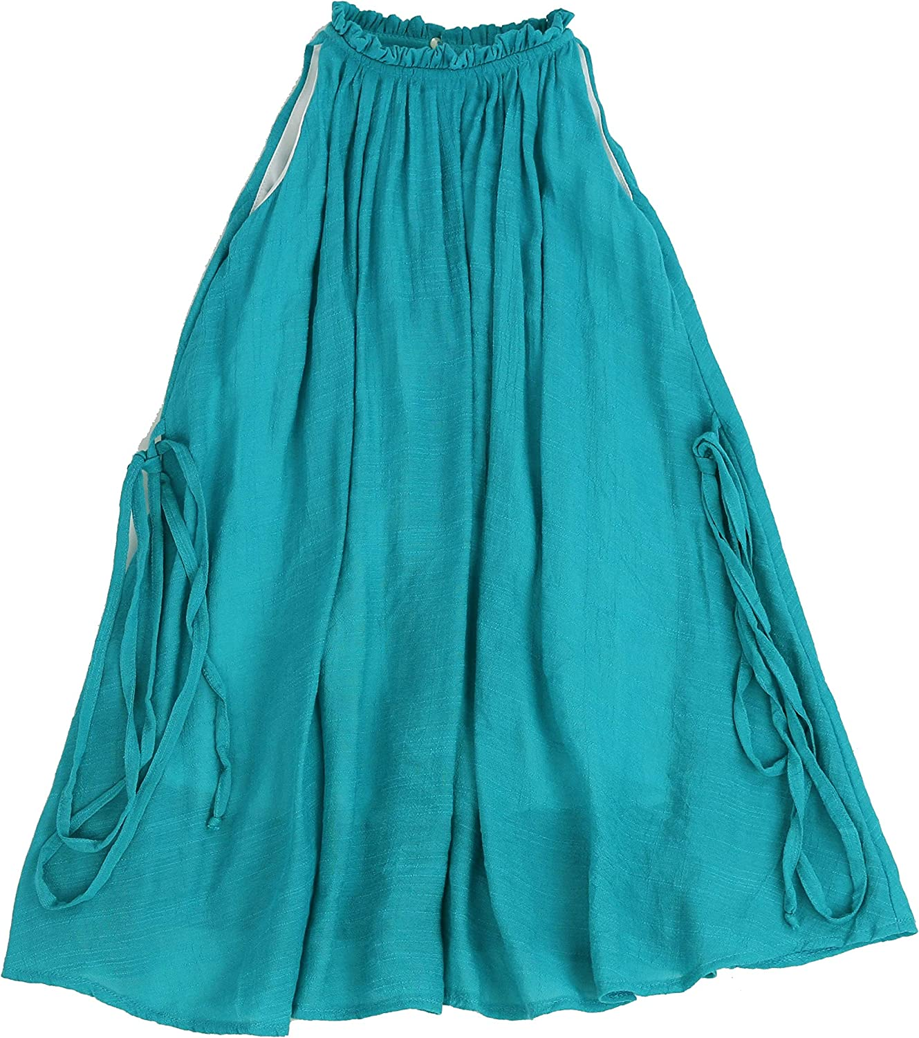 Soft Cotton Ruffled Mock Neck Chic Dress Toddlers and Girls 2T-7//8 LELEFORKIDS