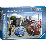 Ravensburger Happy Days - York, 1000pc Jigsaw Puzzle