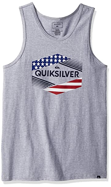 0c8990d4ade74 Amazon.com  Quiksilver Men s Stars   Stripes Tank  Clothing