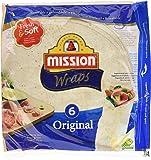 Mission Wraps Original - 6 Paquetes de 370 gr - Total: 2220 gr