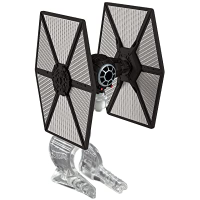Hot Wheels Star Wars The Force Awakens First Order TIE Fighter Vehicle: Toys & Games