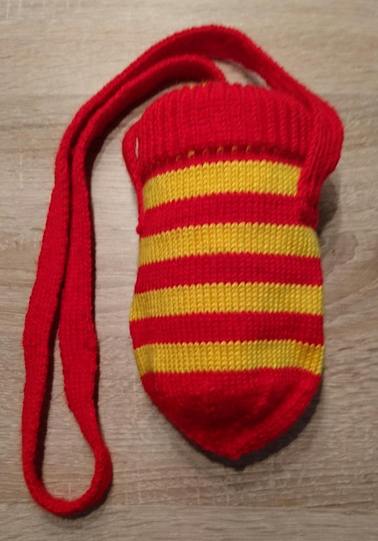 Becherhalter - Rot/Gelb