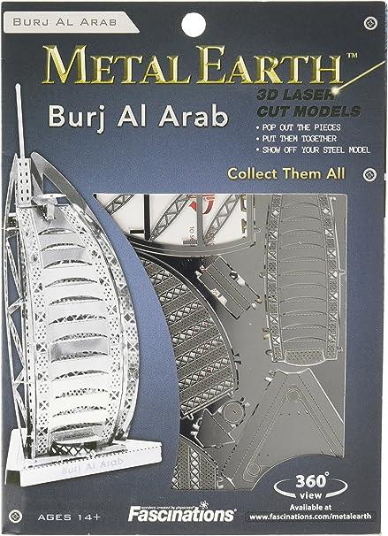 Burj al Arab 3D Metal Model kit//Fascinations Inc Metal Earth