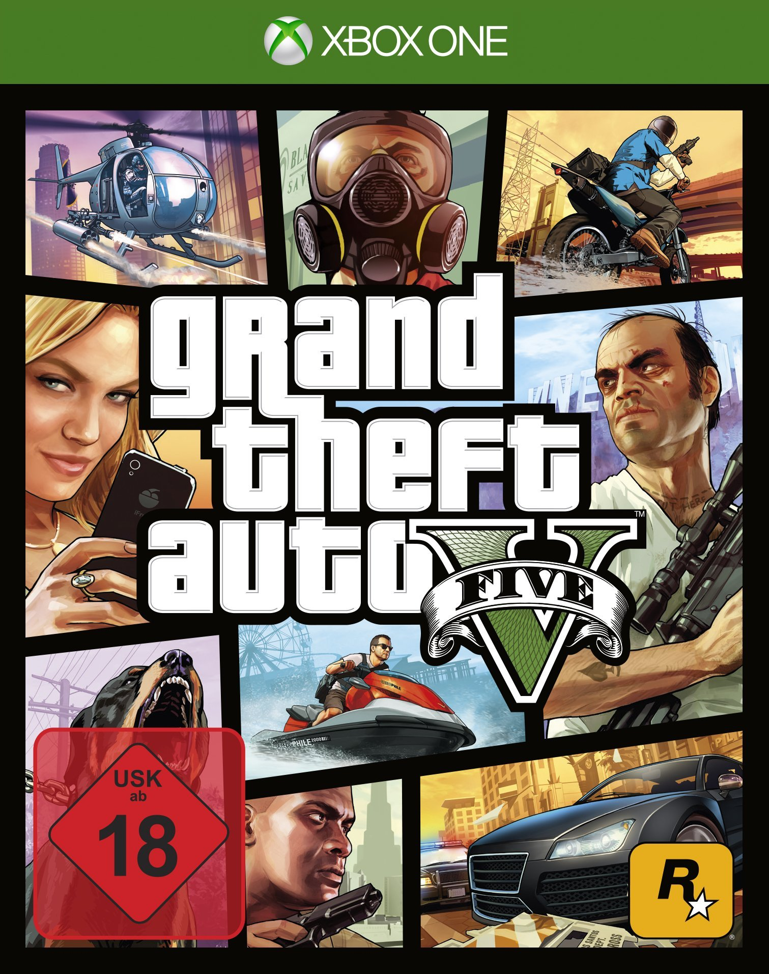 Grand Theft Auto V - [Xbox One] product image