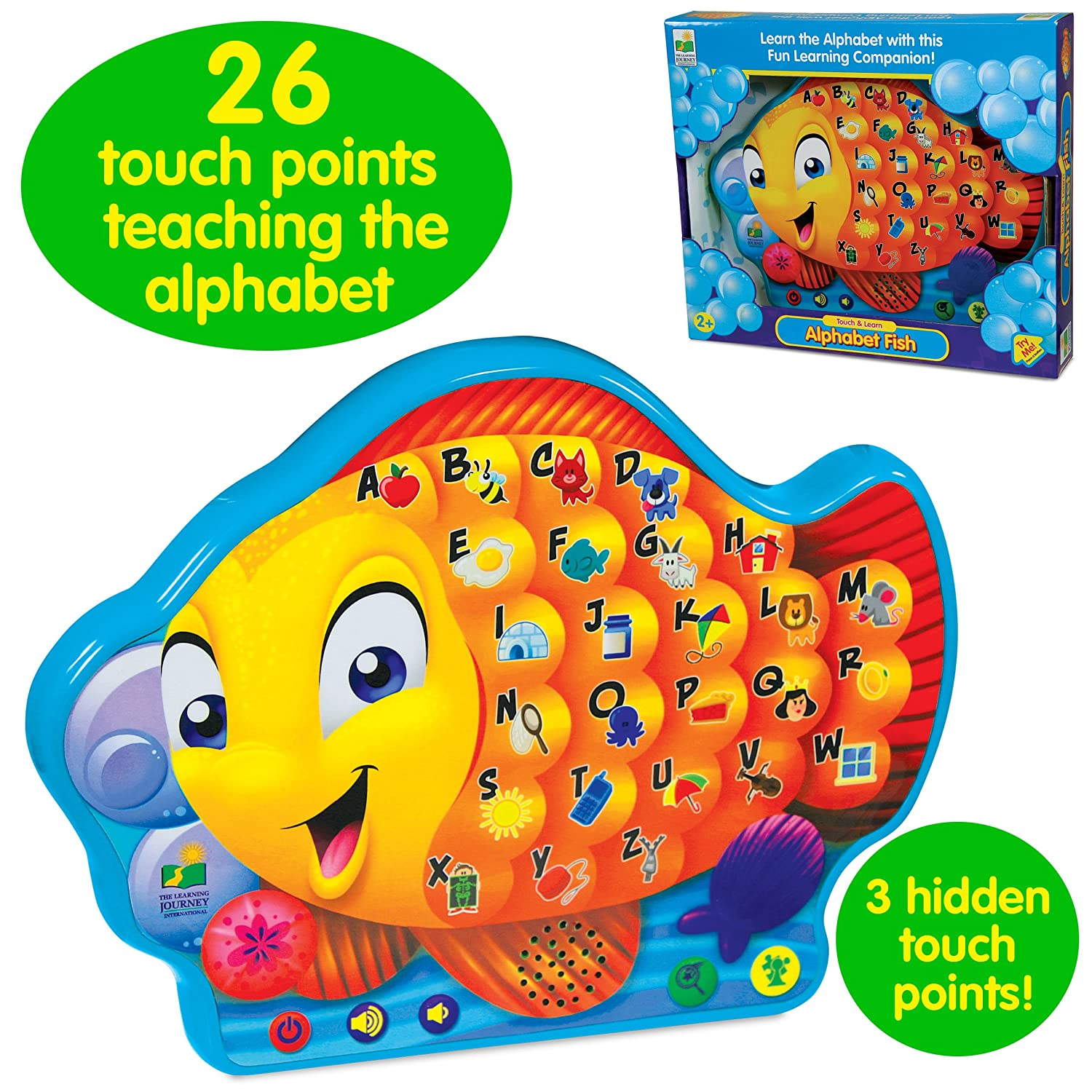 Amazon The Learning Journey Touch & Learn Alphabet Fish