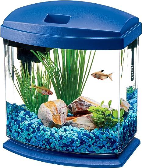 Aqueon MiniBow 1 LED Desktop Aquarium Kit Blue 1 Gallon
