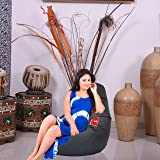 Comfy Bean Bags XL Bean Bag without Beans  Mehendi  available at Amazon for Rs.349