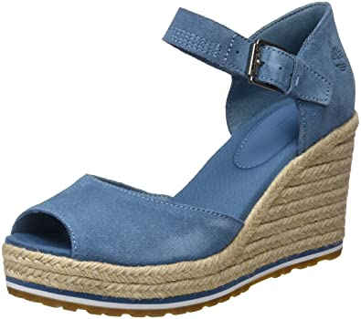 Timberland Nice Coast Suede Strap, Mules Femme, (Simply Taupe Suede and Canvas L47), 40 EU